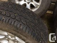 **wheels located in Courtenay** Traded in my 4runner