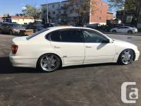 Make Toyota Model Aristo Year 1997 Colour white kms