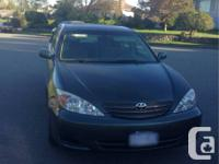 Toyota Camry Lee 2002  GOOD CONDITION  4 cylinder  very