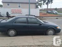 Make Toyota Model Camry Year 1997 Colour Teal Green