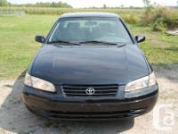 Make Toyota Model Camry Year 1999 Colour black kms
