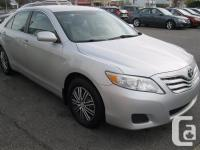 Make Toyota Model Camry Year 2011 Trans Automatic 2011
