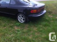 Make Toyota Model Celica Year 1990 Colour Black kms