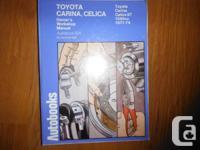 """Toyota Carina, Celica 1600 1971-74 Autobook: Toyota"