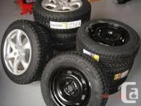 Toyota Corolla 195/65R15 $739.99 plus taxes, includes,