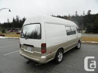 Home need new owner. This is a very unique Toyota hiace