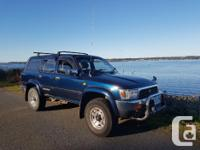Make Toyota Model Hilux Year 1993 Colour Blue kms