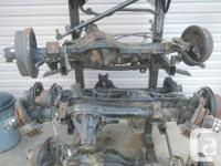 Toyota Land Cruiser 60 Series Axles I have a set of