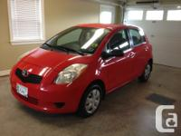 Make. Toyota. Version. Yaris. Year. 2007. Colour. RED.