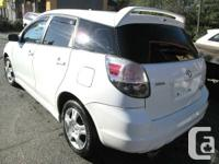 This is a 2005 TOYOTA MATRIX ------------Hatchback