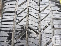 P205/55R16 All are Mud & Snow, 3 are like new, 1 about