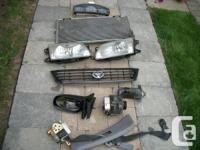 SPARE PARTS FOR TOYOTA TERCEL FITS  THE YEARS FROM 1995