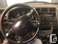 Make Toyota Model RAV4 Year 1997 Colour blue kms