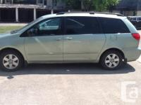 Make Toyota Model Sienna Year 2008 Colour Green kms