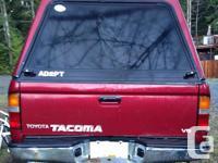 Make. Toyota. Design. Tacoma Xtra. Year. 1999. Colour.