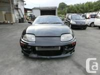 Make. Toyota. Design. Supra. Year. 1995. Colour.