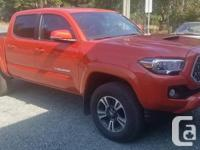 Make Toyota Year 2018 Colour Orange kms 6000 Trans