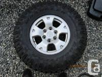 Hello,  I have a set of four toyota tacoma rims and