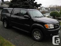 2004 TOYOTA TUNDRA LIMITED WITH CANOPY   Black 4.7 l, 8