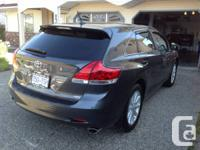 One owner 2012 Toyota Venza Premium Package only