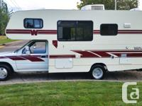We have decided to sell our 1993 Toyota Winnebago