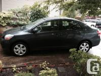 2008 Toyota Yaris Sedan. Grey. Handbook 5-speed