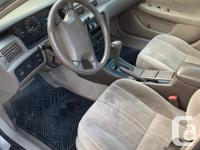 Make Toyota Model Camry Year 1998 Colour beige kms