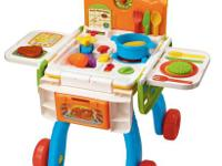 2-in-1 Shop & Cook Playset $25.  Finest for ages:. 2 to