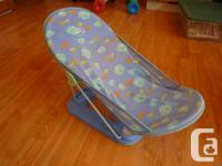 -Baby bath seat $15 -free for plastic bottles, pura
