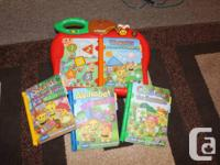 Lots of toys for kids from 2-6 years of age.  VTech