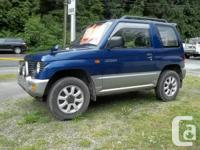 1995 Pajero Mini OLD MAN'S QUAD 4x4 great for hunting