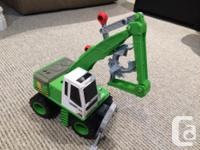 $5 each or all 6 for $20 - Green tractor with scoop -