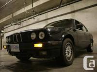 Trade my 1989 BMW 325i E30, shwartz black with tan