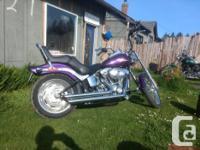Make Harley Davidson Model Softtail Year 2008 kms 6000