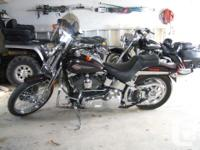 Would like to trade a Springer Softail 2005 33,000 Km