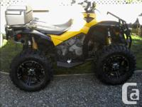 Year 2012 Colour yellow black 2012 canam 1000 xxc