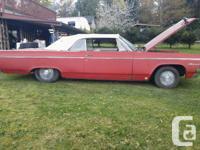 Make Oldsmobile Model 88 Year 1964 Colour red Trans