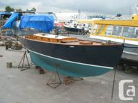 For sale is a 33' LOD, 1935 wooden cutter integrateded