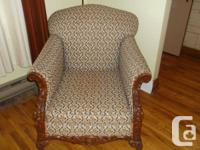 Offering this lovely and also strong sofa and armchair