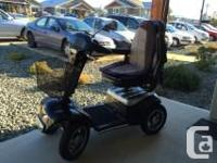 Shoprider Trendsetter Mobility scooter. Price $5,500