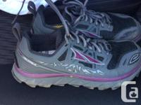 Any one need a pair of almost new trail runners. I
