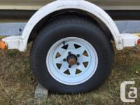 2010 UBilt trailer, new axle, new wheels, new tires 18
