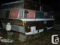 This TravelAire RV trailer is a handyman special and