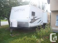 Year: 2007. Make: Layton. Design: Travel Trailers