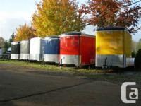 Cargo trailers, equipment trailers, energy trailers,