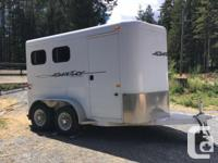 NEW PRICE, NEED TO SELL 2010 IMMACULATE 2 horse