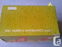 Teaching Aid SRA Ability Modes in Mathematics Degree 1,
