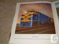 Trains of the World Picture Book, big beautiful
