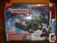 Brand-new Sealed Transformers.  2002 - Megatron -