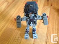 Reduced...Robot to military transport vehicle, very